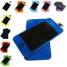 Color LCD Screen Digitizer Replacement Assembly iPhone 4 4S CDMA GSM + Back Door