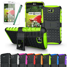 Rugged Armor Heavy Duty Impact Case Stand Cover+Gift For LG G Pro Lite D682 D680
