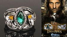 Lord of Rings Aragon's Ring Barahir Leopard Lotr Crystal Ring 4 Size US Jf495