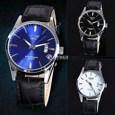 Fashion Waterproof Calendar Luxury Sport Analog Quartz Clock Mens Wrist Watch