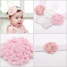 Baby Infant Kid Girls Toddler Hairband Lace Bow Flower Headband Hair Accessories