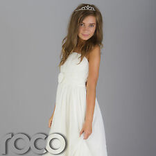 Girls Ivory Bridesmaid Dresses, Prom Dresses, Flower Girl Dresses, Girl Dresses