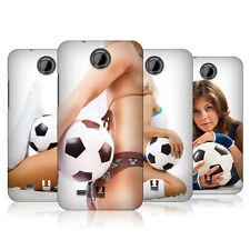 HEAD CASE FOOTBALL BABES SNAP-ON BACK COVER FOR HTC DESIRE 300