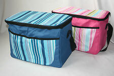STRIPEY Cool Bag (2 COLOURS) ***GREAT FOR PICNICS***PERFECT FOR SUMMER*** BB793A