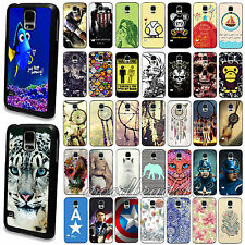 Painted Animal Dream Catcher Pattern Case Cover For Samsung S4 i9500 S5 i9600