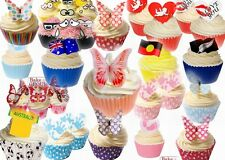 Edible Wafer Cake Toppers - Various