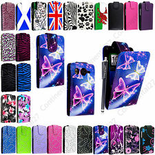 FOR HTC DESIRE HD PU LEATHER MAGNETIC PROTECTED FLIP CASE COVER + FREE STYLUS
