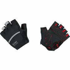 Gore Bike Wear Oxygen Cycling Fingerless Glove Gel Padding Reflective