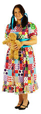 A Real Plus 18-40 TOY SHOP LONG DRESS RAG DOLL Fancy Dress costume