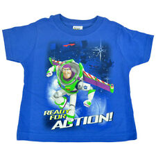 Official Disney Toy Story Buzz Lightyear Ready For Action Toddler Tshirt Tee