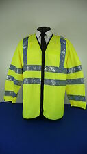 Hi Vis Ex Police Traffic Officers Steward Recovery Over Jacket Ex Police ref04