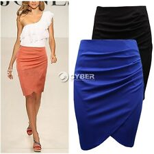 Fashion Womens' Business Suit Pencil Skirt Summer OL Knee Length Step Skirts