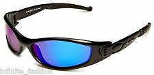 Eyelevel Men's Sunseeker 1 Sports Wrap Around Polarized Sunglasses - Blue Mirror