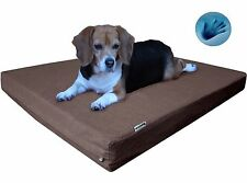 MEMORY FOAM PET BED DURABLE Orthopedic Waterproof for Small - Extra Large Dog