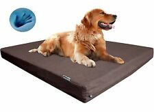 CP Strong Orthopedic Waterproof MEMORY FOAM Pet Bed for Medium Extra Large Dog