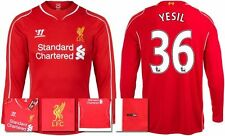 *14 / 15 - WARRIOR ; LIVERPOOL HOME SHIRT LS / YESIL 36 = SIZE*