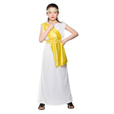 Girls Ancient Greek Costumes | Childrens Book Week Fancy Dress Up Outfits for Ki