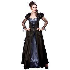 Ladies Vampire Costumes for Adult Womens Dracula Halloween Trick Treat Party Fan