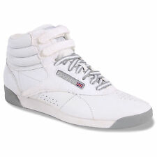 Reebok Freestyle Hi Bunny White Women's Sneakers Classic Running Shoes 37-40