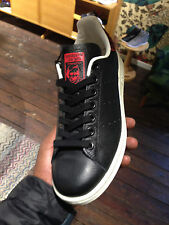 """Womens Adidas Stan Smith EF W """"Black/Collegiate Red""""  Exclusive Sneakers (new)"""