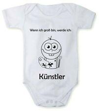 Bodysuit with When I grow up, I want to be an artist in different languages