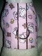 DOG CAT FERRET~Harness HELLO KITTY Baby Pink Bear Bows