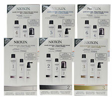 Nioxin System Kit  for Fine Hair Choose Your System # 1 # 2 # 3 # 4 # 5 or # 6