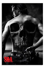 Sons Of Anarchy Jax Back Large Wall Poster New - Maxi Size 36 x 24 Inch