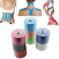 5m x 5cm Kinesio Athletic Muscle Care Physio Therapeutic Tape Bandages 6 Colors