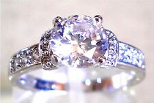 Gorgeous Simulated Diamond Wedding Engagement Ring Various Size