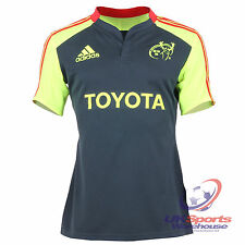 Adidas Munster Rugby Union Player Issue Adults Training Jersey / Shirt rrp£59.99