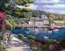 Seascapes Mediterranean HD Print Oil painting Picture on canvas L050