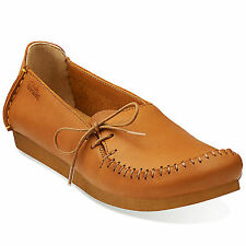Clarks Original Faraway Charm Tan Womens Shoes