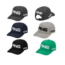 PING G30 Tour Unstructured Hat Adjustable with Mr PING logo Closure Solid Colors