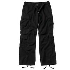 Vintage Paratrooper Cargo Pants, Black BDUs / Fatigues