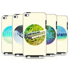 HEAD CASE INSPIRATIONAL CIRCLE BACK COVER FOR APPLE iPOD TOUCH 4G 4TH GEN