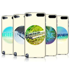 HEAD CASE INSPIRATIONAL CIRCLE BACK COVER FOR APPLE iPOD TOUCH 5G 5TH GEN