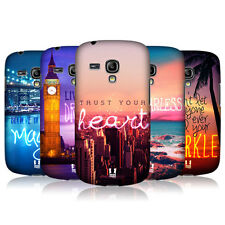 HEAD CASE WORDS TO LIVE BY 4 BACK COVER FOR SAMSUNG GALAXY S3 III MINI I8190