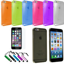 Clear Transparent Thin Slim Hard Case Phone Cover for Apple iPhone 6 Plus (5.5)