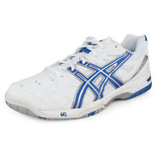 ASICS GEL-Game 4 Men's High-Performance Tennis Shoes White Blue