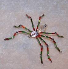 Kit-N-Kaboodle Crafts Christmas Bead Craft Ornament Kit Spider Makes 1