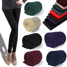 NEW Women Winter Thick Warm Slim Stretch Footless Leggings Skinny Tights Pants