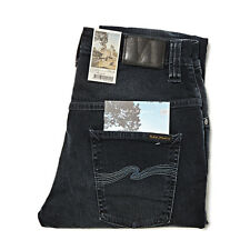 NUDIE JEANS CO THIN FINN BLUE STRIKE JEANS SLIM
