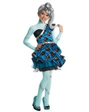 BRAND NEW Monster High DELUXE CHILD GIRLS FRANKIE STEIN COSTUME Sizes S, M, L