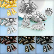 20g abt.30-48pcs Filigree Cone Bead Caps Charms Findings Wholesale 12mm DIY