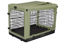 """Pet Gear 27"""" Other Door Steel Crate Dog/Cat Kennel with Travel Bag and Plush Pad"""