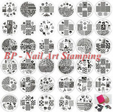 Ongle Nail Art Stamp Stamping Template Image plaque BORN PRETTY decorations