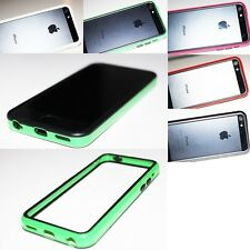 For Apple iPhone 5C Cell Phone Case Hard Frame Bumper TPU PC Skin Phone Cover