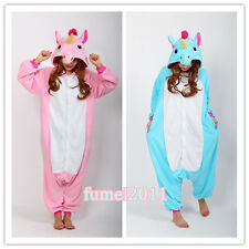Kigurumi Animal Unicorn Pajamas Pyjama Romper Costume Onesies Cosplay Halloween