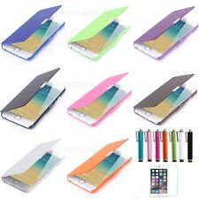 For Apple iPhone 5 5S Magnetic Flip Leather Hard Pouch Wallet Case Cover #55